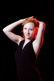 Portrait of redhead woman Royalty Free Stock Images