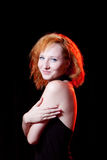 Portrait of redhead woman Royalty Free Stock Photo