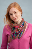 Portrait of redhead woman Royalty Free Stock Image