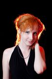 Portrait of redhead woman Royalty Free Stock Photography