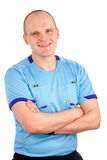 Portrait of a referee. Royalty Free Stock Image