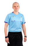 Portrait of a referee. Stock Image