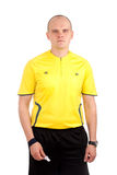 Portrait of a referee. Royalty Free Stock Photo