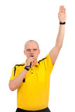 Portrait of a referee. Stock Images
