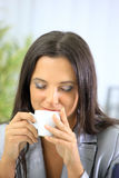 Portrait of relaxed businesswoman Royalty Free Stock Image