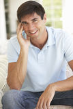 Portrait Of Relaxed Young Man Stock Image