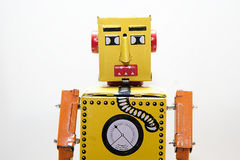 Portrait robot. Stock Images