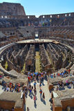 Portrait romain de colosseum Photo stock