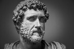 Portrait of Roman emperor Antoninus Pius Stock Photo