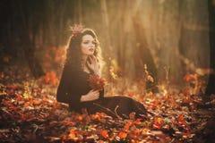 Portrait of romantic girl Stock Photography