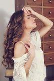 Portrait romantic girl Royalty Free Stock Photography