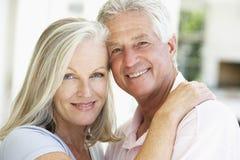 Portrait Of Romantic Senior Couple Stock Photos
