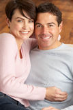 Portrait Of Romantic Young Couple Royalty Free Stock Photo