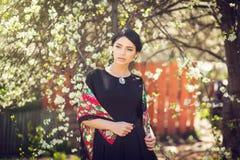 Portrait romantique de femme Photographie stock