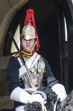 Portrait of Royal Horse Guards in typical uniform Stock Image