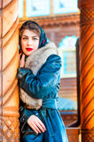 Portrait of Russian beauties Stock Images