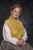 Portrait of a Russian merchant woman Stock Photo