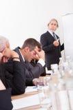 Portrait Of Sad Business Team Stock Images