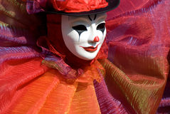 Portrait of a sad clown Royalty Free Stock Photography