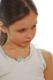 Portrait sad girl Stock Image