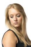 Portrait sad girl Royalty Free Stock Images
