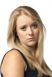 Portrait sad girl Royalty Free Stock Photos