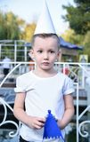 The little boy in the Park royalty free stock photography