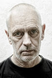 Portrait of a Sad Man Royalty Free Stock Images