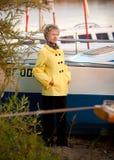 Portrait of the sad  mature woman Royalty Free Stock Photo