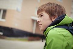 Portrait of sad teen, outdoor Royalty Free Stock Photos