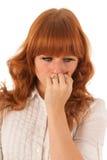 Portrait sad woman Royalty Free Stock Images