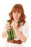 Portrait sad woman Stock Photo