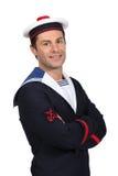 Portrait of a sailor Royalty Free Stock Photos