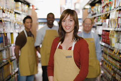 Portrait of sales assistant Royalty Free Stock Photo
