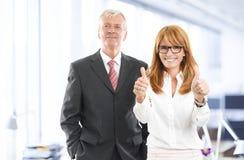 Portrait of sales team Stock Image