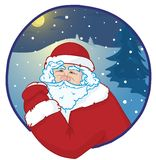 Portrait of santa Royalty Free Stock Photography