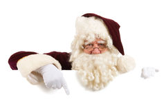 Portrait Santa Claus Stock Photography