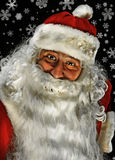 Portrait of Santa Claus Stock Photo