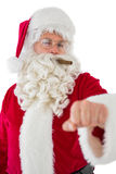 Portrait of santa claus with cigar Stock Images