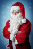 Portrait Santa Claus Stock Photography