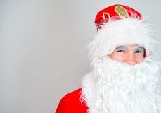 Portrait of Santa Claus. Royalty Free Stock Photos
