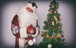 Portrait of a Santa Claus Royalty Free Stock Image