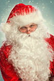 Portrait of Santa Claus Stock Image