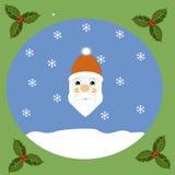 Portrait of Santa Royalty Free Stock Photos