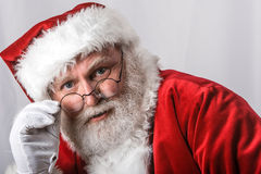 Portrait of Santa Stock Photography