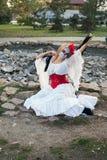 Portrait of Santa Muerte Stock Photo