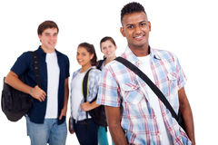Portrait school students Royalty Free Stock Photography