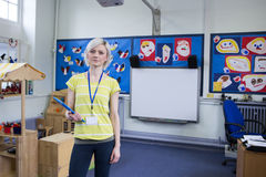 Portrait of a School Teacher Royalty Free Stock Images