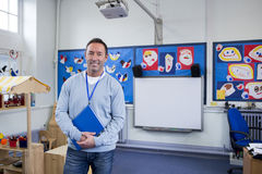 Portrait of a School Teacher Royalty Free Stock Photos