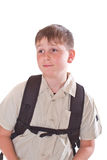 Portrait of a schoolboy Royalty Free Stock Photo